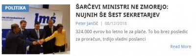 Predlog za nove državne sekretarje